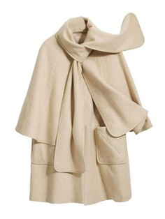 H&M; Cream Cape