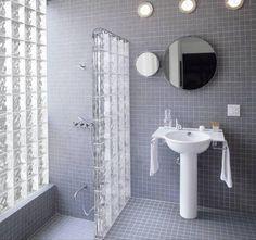 Épített zuhanykabin - fürdő / WC ötlet