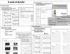 THE GIVER UNIT 5 weeks of lesson plans. Includes pacing guide, film essay, activities, reading quizzes, and discussions. This bundle has everything you need to get started teaching The Giver in an engaging way! This unit supports an in-depth analysis of the text. Students will be encouraged to think deeply and write about themes and character development with these activities.
