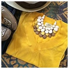 Ann Taylor Loft | Yellow V-Neck Summer Sweater Gorgeous canary yellow lightweight sweater that's guaranteed to brighten any spring day! Three-quarter length sleeves. Excellent used condition. Make me an offer 😀 LOFT Sweaters V-Necks