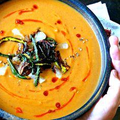 Spicy Zucchini Soup | Recipe | Zucchini Soup, Onion Bread and Zucchini