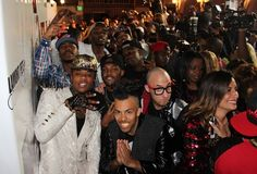 Group pic!!! BET Awards Official Afterparty Red Carpet