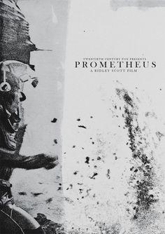 Re-designed Prometheus Posters - Films - ShortList Magazine