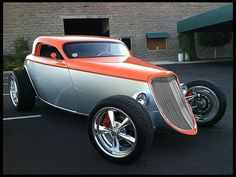 Visit The MACHINE Shop Café... ❤ Best of Hot Rod @ MACHINE ❤ (1933 Ford 'Speedstar' Hot Rod)
