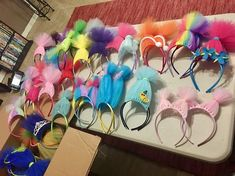 Troll Headbands Trolls Inspired Costume accessory Poppy #pregnancyat8weeks,