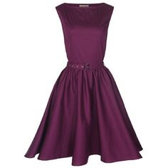 Lindy Bop Classy Vintage Audrey Hepburn Style 1950's Rockabilly Swing Evening Dress ($70) found on Polyvore