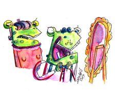 #frogs by Marcelo Bittencourt www.homemquevoa.com