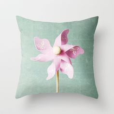 A Childhood Memory Throw Pillow by Tracey Krick - $20.00