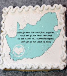 Freedom Day Cookies South Africa, Afrikaans, edible images Afrikaans Language, Freedom Day, Screenprinting, Fig, South Africa, Southern, Arts And Crafts, African, Cookies