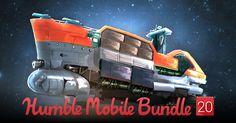 [HumbleBundle] Mobile: Tomb Raider 1 e 2, Cloud Chasers, Cosmonautica, etc