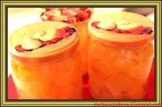 Kouzelná vařečka: Dýňový kompot s ananasem Cantaloupe, Pudding, Jar, Fruit, Cooking, Desserts, Food, Smoothie, Pineapple