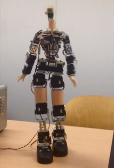 V-Sido real-time robot control software gives this robot a more naturalistic walk