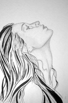 dibujo plumon lapiz  dibujo  romina art                                                                                                                                                                                 Más