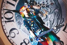 Rainbow Dash human (punk rock version) cosplay by Lena Lewin #rainbowdash #humanization #colorful #mlp #my_little_pony #Friendshipis_Magic #rainbow #pony #Firefly #rainbow_dash_cosplay #my_little_pony_cosplay #cosplay #rainbow #rainbow_hair #радуга #smile