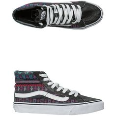 d0e1203a5f Vans Guate Stripe Sk8-hi Slim Shoe ( 65) ❤ liked on Polyvore featuring shoes
