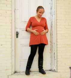 V Neck Tunic (Soy or Bamboo Organic Cotton)