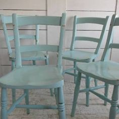 painted chairs on pinterest kitchen chairs painted
