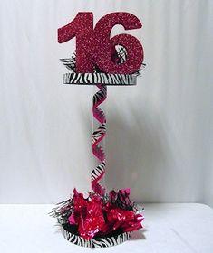 cebra decoración 16 años