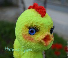 Вяжем крючком пасхального цыпленка с авоськой - Ярмарка Мастеров - ручная работа, handmade