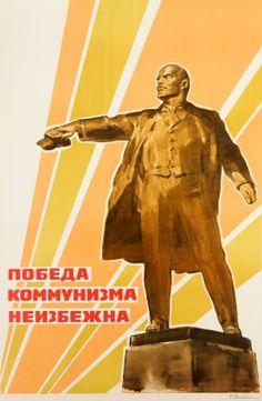 Original Vintage Posters -> Propaganda Posters -> Victory of Communism Lenin - AntikBar