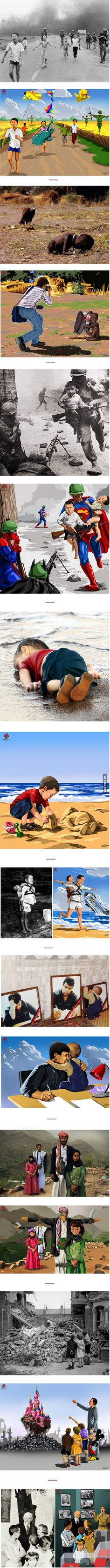 Meaningful art by an unknown artist..