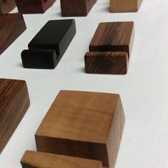 There are some stands left! Es gibt noch ein paar Ständer! #tabletstand #wood #hardwood #premium #design #beech #old #oak #bark #ipad #iphone #htc #smartphone #tablet by objektschmiede