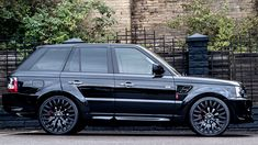 2013 black Range Rover sport murdered out black!