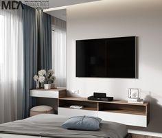 70 new ideas bedroom small modern quartos Room Design Bedroom, Modern Bedroom Design, Bedroom Layouts, Home Room Design, Home Decor Bedroom, Living Room Designs, Mirror Bedroom, Silver Bedroom, Contemporary Bedroom
