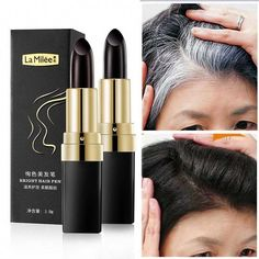 Free Worldwide Shipping 35 Days One-Time Hair dye Instant Gray Root Coverage Hair Color Modify Cream Stick Temporary Cover Up White Hair Colour Dye Production License: WT: Type: Hair ColorQuantity: One-Time Hair dyeModel Number: One-Time Hair dye Grey Hair Roots, Root Cover Up, Covering Gray Hair, Hair Dye Colors, Hair Colour, Temporary Hair Color, Bright Hair, White Hair, Boho