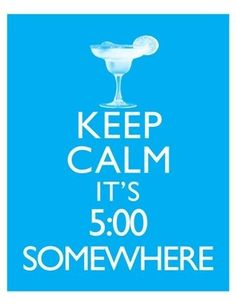 Time for a margarita!!