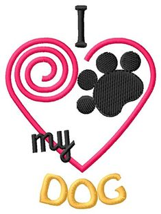 Free Dog embroidery design