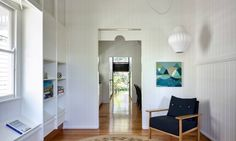 This prewar worker's bungalow in Queensland, Australia, has been transformed into a modern family house.