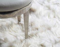 The Rug Company Alpaca White Rug