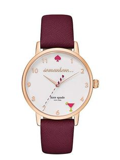 Need this watch.  5 o'clock metro watch - kate spade new york