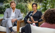 Meghan, Diana, drugs and therapy: what Harry said in Apple TV series   Prince Harry   The Guardian Oprah Winfrey, Meghan Markle, Prinz Philip, Prinz Charles, Prince Harry Et Meghan, Harry And Meghan, Madame Tussauds, Hollywood, Apple Tv