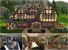 Tudor house No.2 by JarkaD - Sims 3 Downloads CC Caboodle