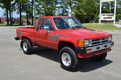 My ninth set of wheels was an 87 toyota SR5 4X4 with a reg cab and sunroof ...great fun running and wheeling (pictured 1988 Tacoma SR5 XtraCab)