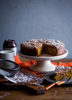 Pumpkin Coffe Cake Recipe from WhiteOnRiceCouple...