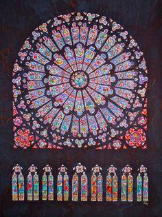 Cathedral Rose Window by starshield.deviantart.com on @deviantART