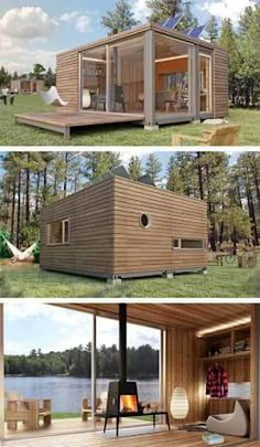 Container House - Container House - Shipping Container Homes - Who Else Wants Simple Step-By-Step Plans To Design And Build A Container Home From Scratch? Who Else Wants Simple Step-By-Step Plans To Design And Build A Container Home From Scratch? Building A Container Home, Container Buildings, Container Architecture, Architecture Design, Container Houses, Container Cabin, Sustainable Architecture, Contemporary Architecture, Container Gardening