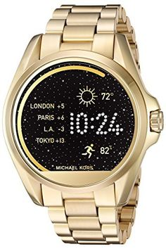 Michael Kors MKT5001 Access Touch Screen Gold Bradshaw Smartwatch  #Access #Bradshaw #gold #Kors #Michael #MKT5001 #screen #smartwatch #Touch MonitorWatches.com