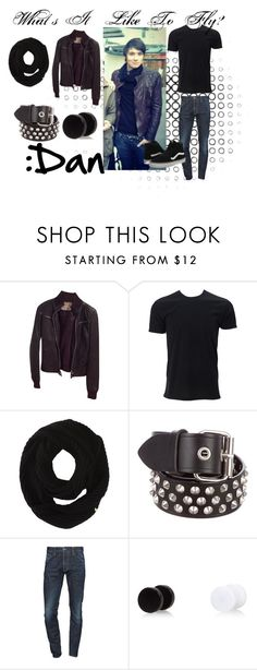 """""""Dan's Date ~ WILTF ~ Chapter 16"""" by wisteriaflower ❤ liked on Polyvore featuring Zara, Cole Haan, Bassike, Dsquared2, River Island, Vans, men's fashion and menswear"""