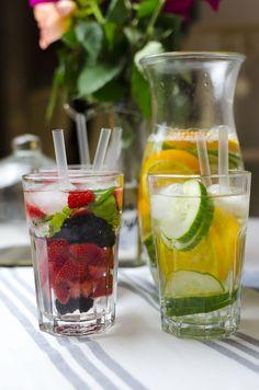 Infused Water - fruchtiges Wasser für heiße Tage! | andysparkles
