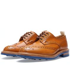 END. x Tricker's Colour Dainite Bourton Brogue (Acorn Antique & Blue)