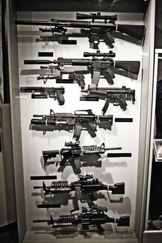 Display of weapons used by Navy Seals, PPK, 2 x 2 x Ninja Weapons, Weapons Guns, Guns And Ammo, Zombie Weapons, Fille Et Dirt Bike, Armas Airsoft, Gun Vault, Armas Ninja, Weapon Storage