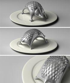 Scratch My Back - hedgehog grater