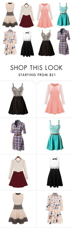 """""""Untitled #12"""" by poppyh999 ❤ liked on Polyvore featuring LE3NO, Valentino and Alexander McQueen"""