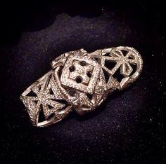 Loree Rodkin 18K Bondage Knuckle Ring