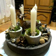 na prírodno :-), Vianočné dekorácie