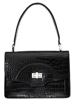 Osprey London New Agatha Croc Bag
